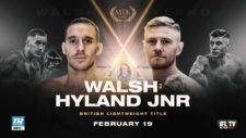 Liam Walsh vs Paul Hyland Jnr